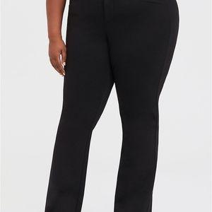 Torrid 24R Black Trousers Soft Wide Leg Slacks